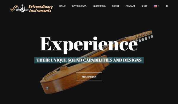 Extraordinary Instruments project of RizosMedia digital marketing agency